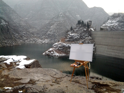 foto of plein air  in Bulgaria 2010.