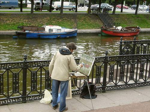 foto of plein air and exhibitions in Bulgaria