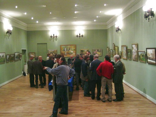 Photo. Azat Galimov solo exhibition in the halls