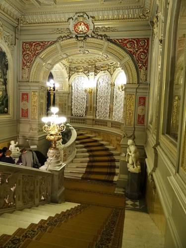 Photo. Palace of Grand Duke Vladimir Alexandrovich. The Grand staircase.