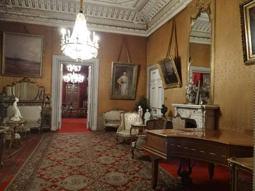Photo.The Palace interior.