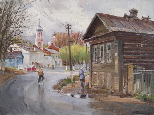 Painting Galimov Azat.Valdai. After the rain.